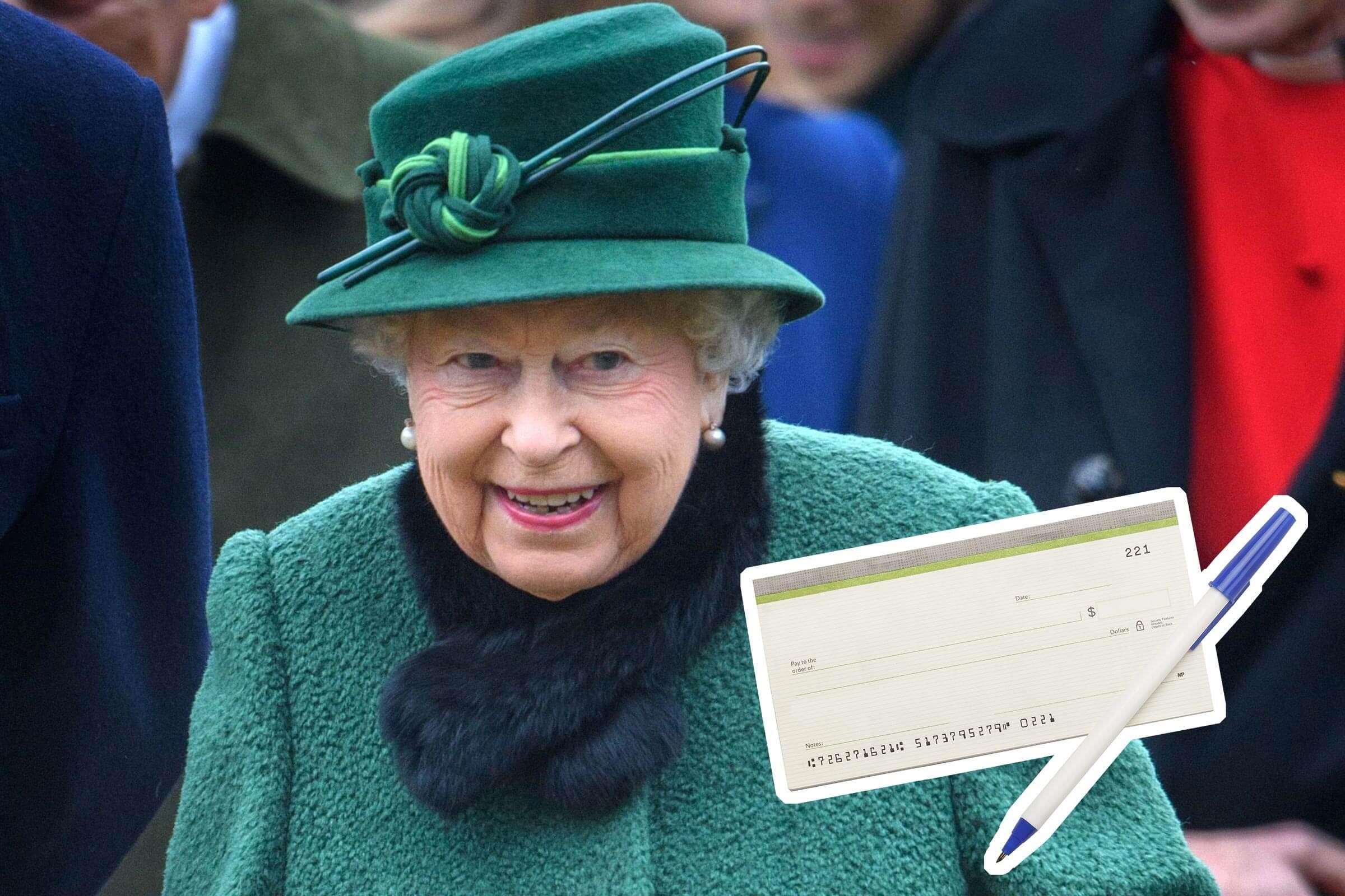 Елизавета II: почему королева Великобритании никогда не подписывает чеки своей рукой!