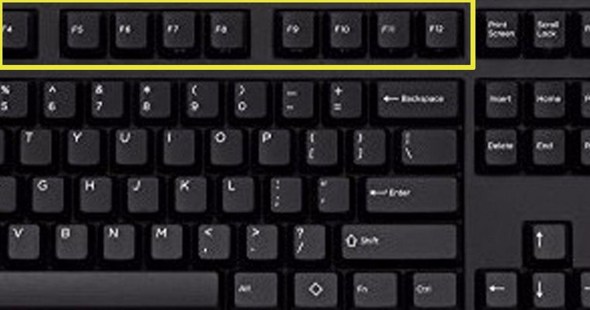 Клавиши от F1 до F12: они помогут Вам сэкономить уйму времени и облегчить работу на компьютере!