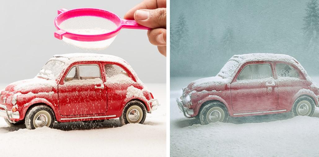 Фотограф создаёт миры из маленьких игрушек при помощи огромного воображения!