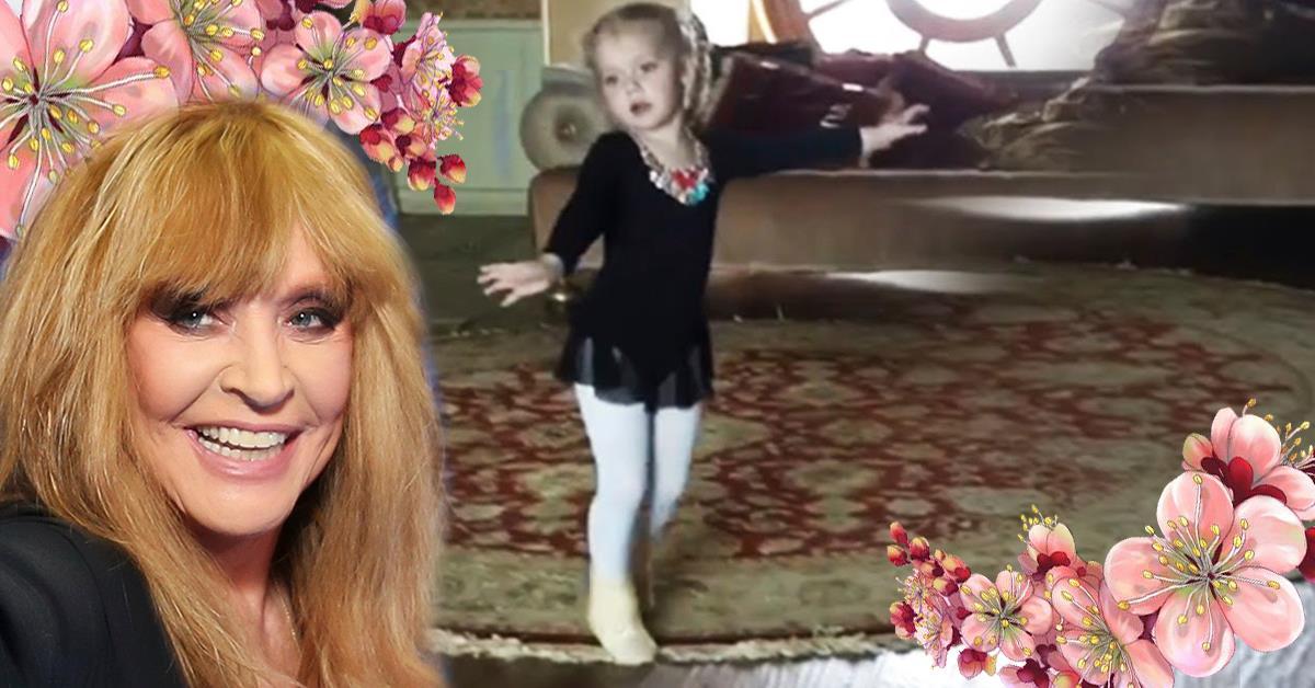 Дочка Аллы Борисовны настоящая принцесса!