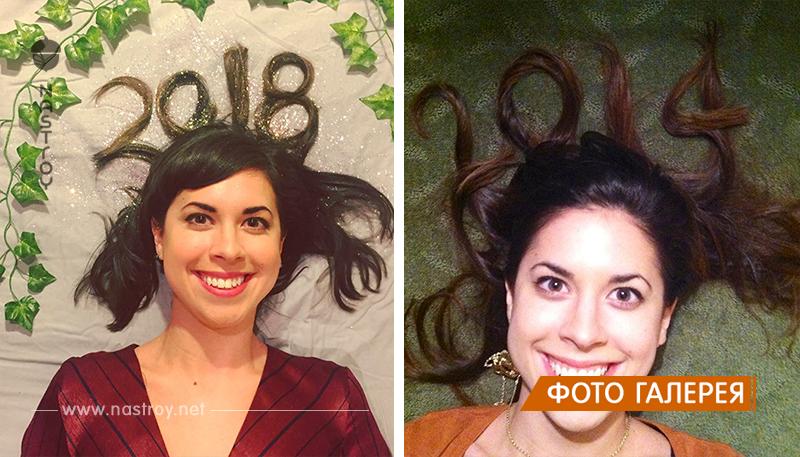 Актриса 10 лет делает одно и то же новогоднее фото и как будто не стареет!