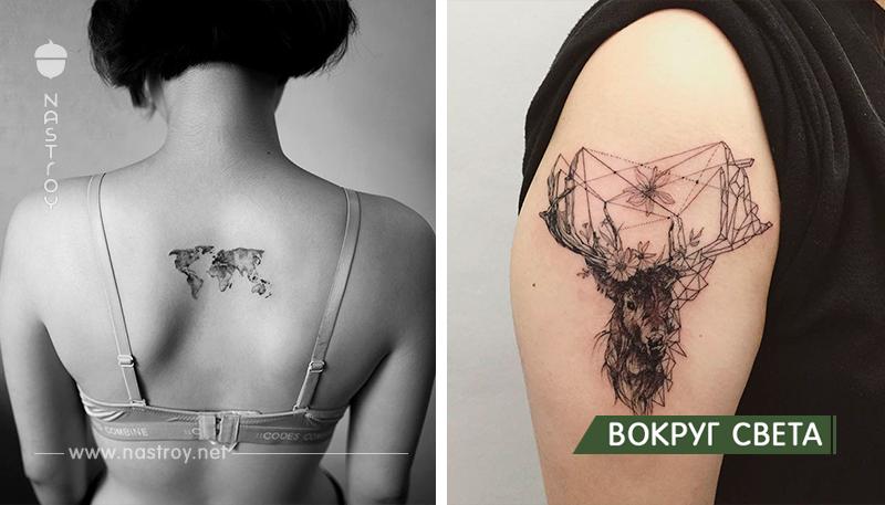 15 деликатных и нежных татуировок от южнокорейского художника
