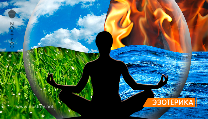 Какая стихия вами управляет — Огонь, Земля, Воздух или Вода?