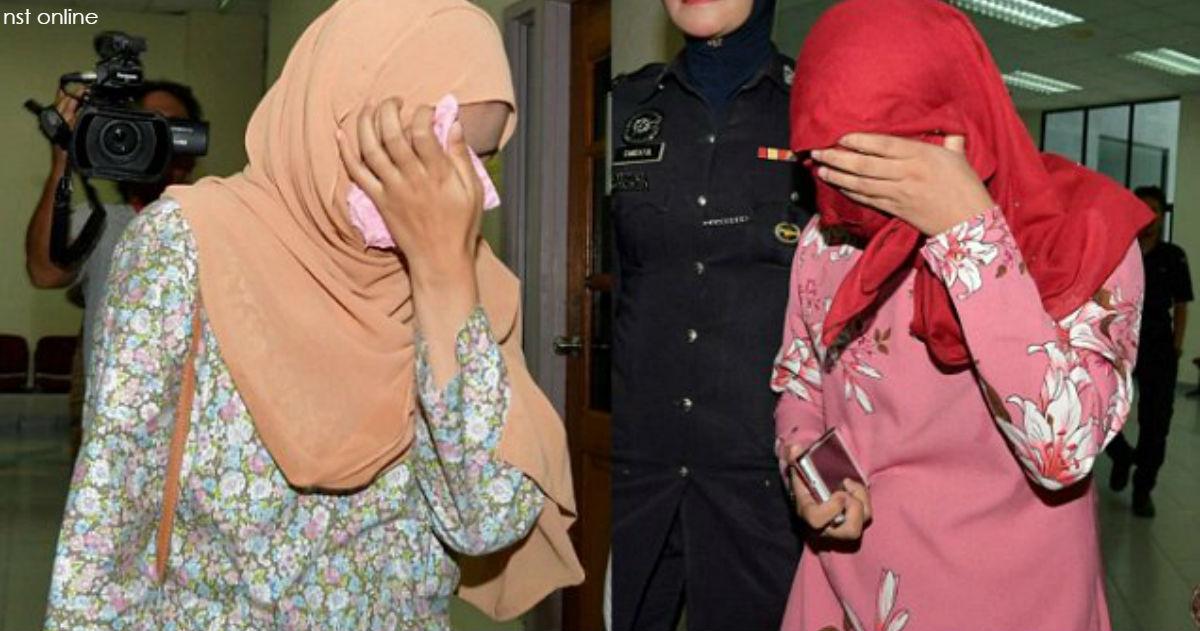 Этих двух женщин осудили по законам ислама за ″попытку заняться лесбийской любовью″
