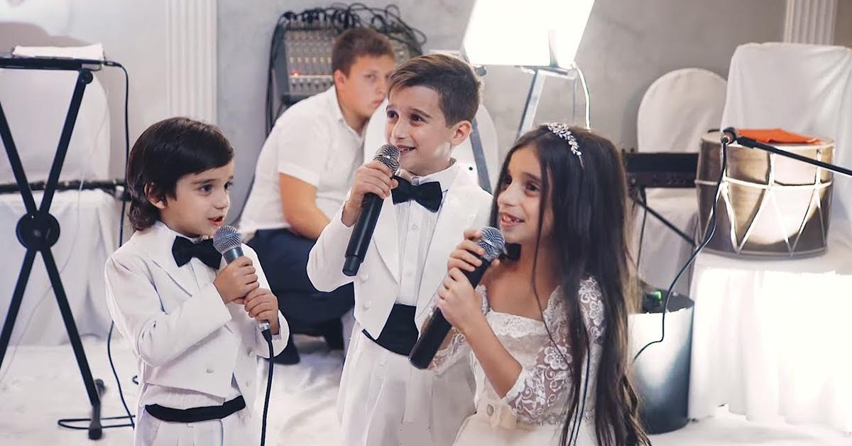 Дети исполнили песню на свадьбе! Очень красиво!