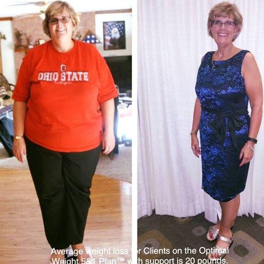 Женщина сбросила 137 кг лишнего веса с помощью воды, аэробики, ходьбы и этой диеты!