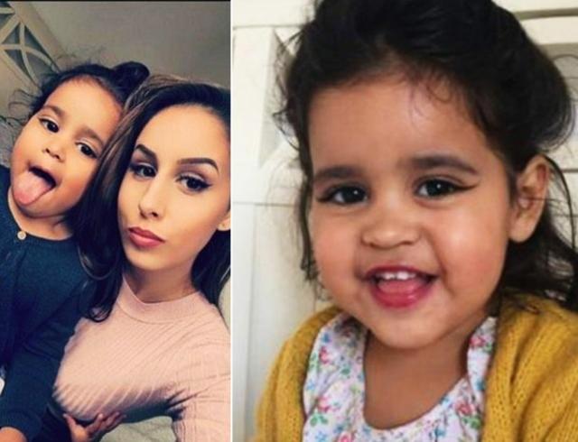 Маму осудили, за то, она красит брови 2 летней дочери!