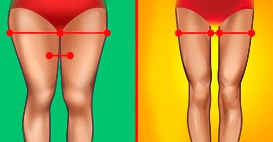 Вот как устранить жир с бёдер! Стройные ноги вам обеспечены!