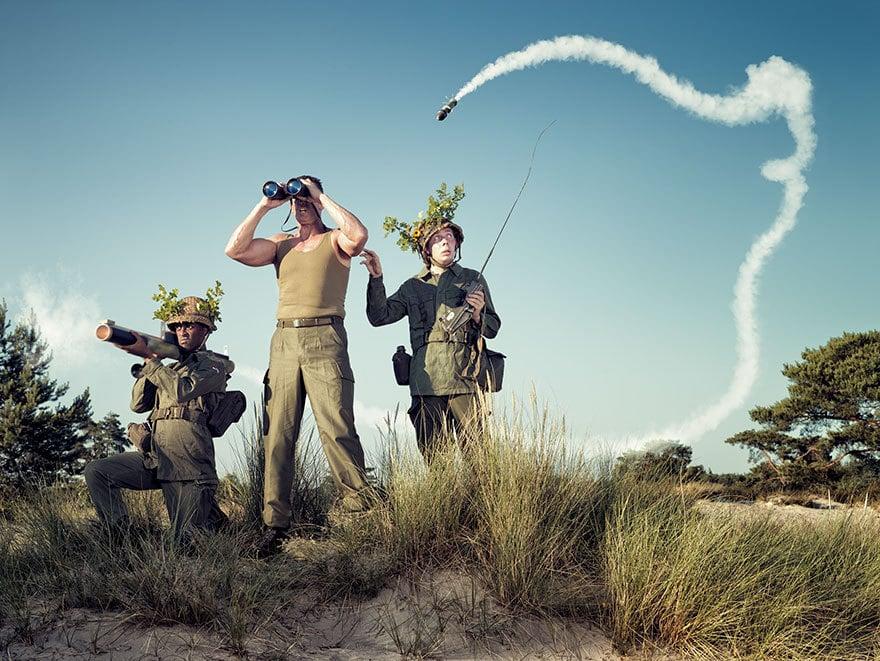 25 остроумных и креативных снимков от голландского фотографа, у которого явно есть чувство юмора!