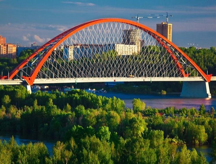 Бугринский мост в Новосибирске   описание, история и интересные факты
