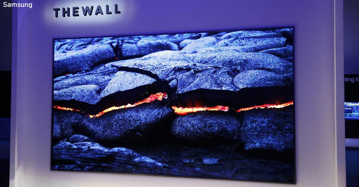 146 дюймовый телевизор от Samsung так и называется: ″Стена″