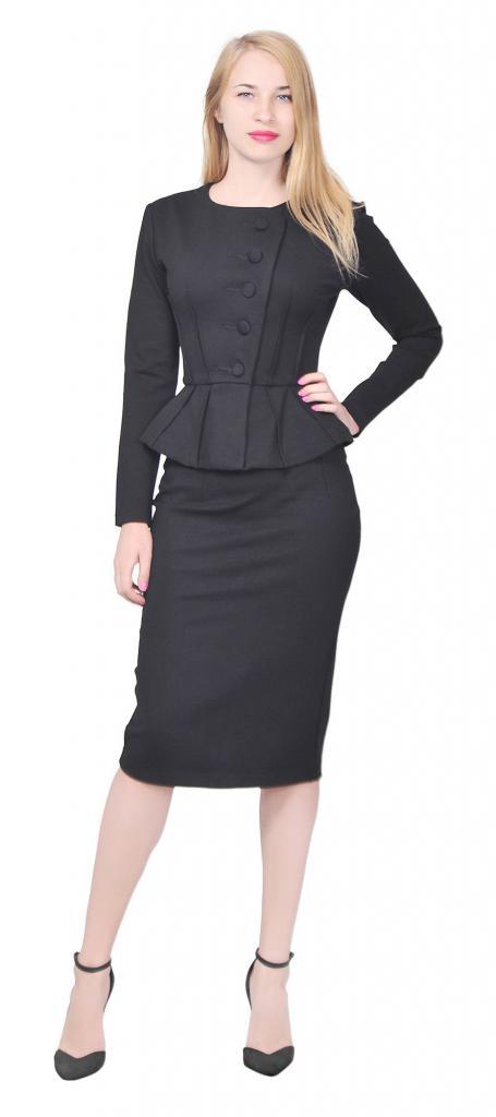 e9d33f771eb Модные деловые костюмы для женщин  описание и фото