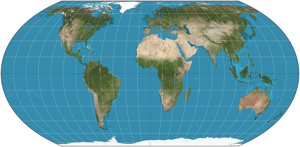 Карта, на которой вы выросли - наглая ложь! Вот как выглядит мир на самом деле