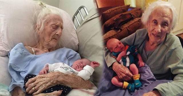 Как это возможно: 101-летняя итальянка родила ребенка