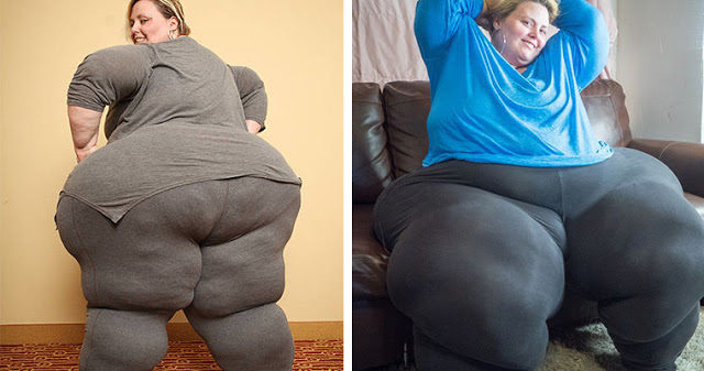Бедра в 2,3 метра: американка зарабатывает 00 в месяц благодаря своим формам