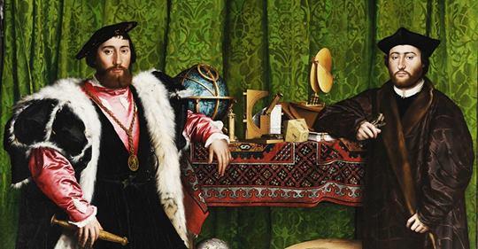 Эта оптическая иллюзия была создана художником в 1533 году, но до сих пор способна взорвать мозг