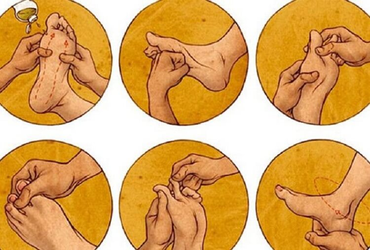 5 медицинских причин всегда делать массаж стоп перед сном