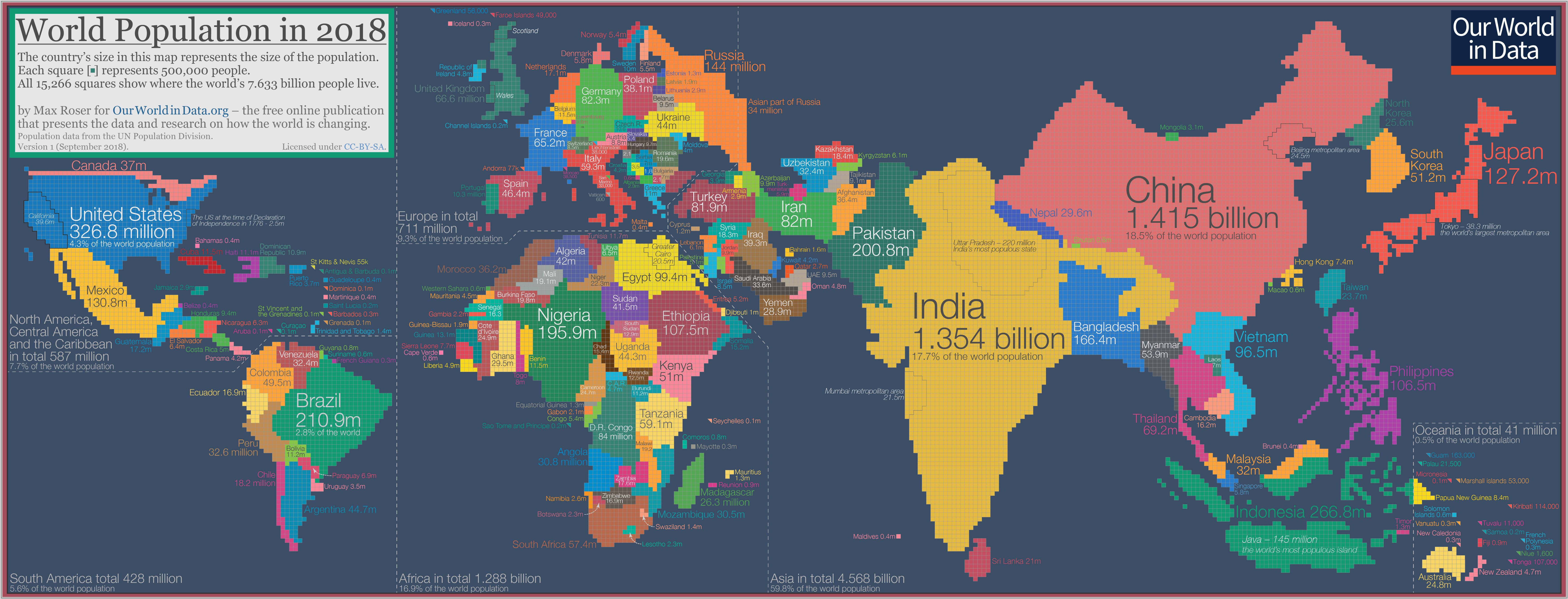 Эта карта изменит ваше восприятие мира. Вы только задумайтесь...