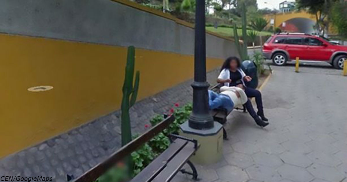 Фотография на Google Maps разрушила брак: Мужик увидел на ней жену с любовником