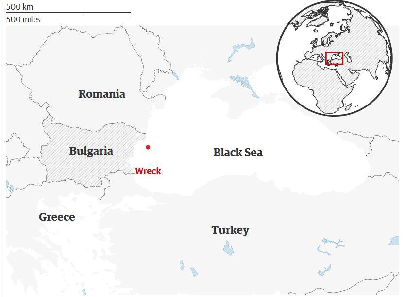 В Чёрном море нашли самый древний корабль в мире. Ему 2400 лет!