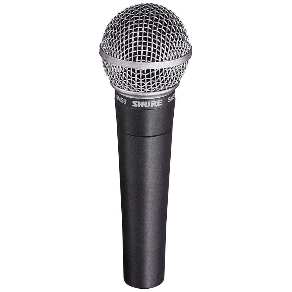 Микрофон Shure SM58: характеристики и обзор