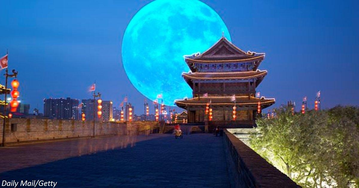 Китайцы запустят ″искусственную Луну″ в 2020 году. Она будет освещать города!