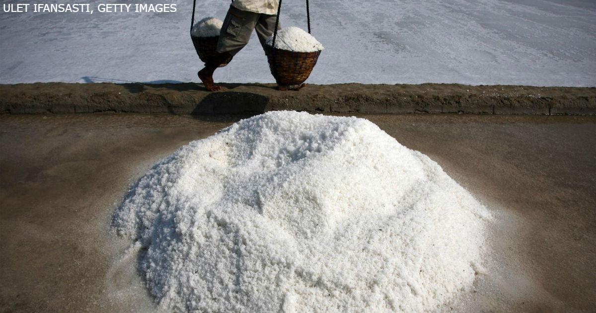 Никогда никогда не покупайте морскую соль! Последствия могут быть самыми ужасными...
