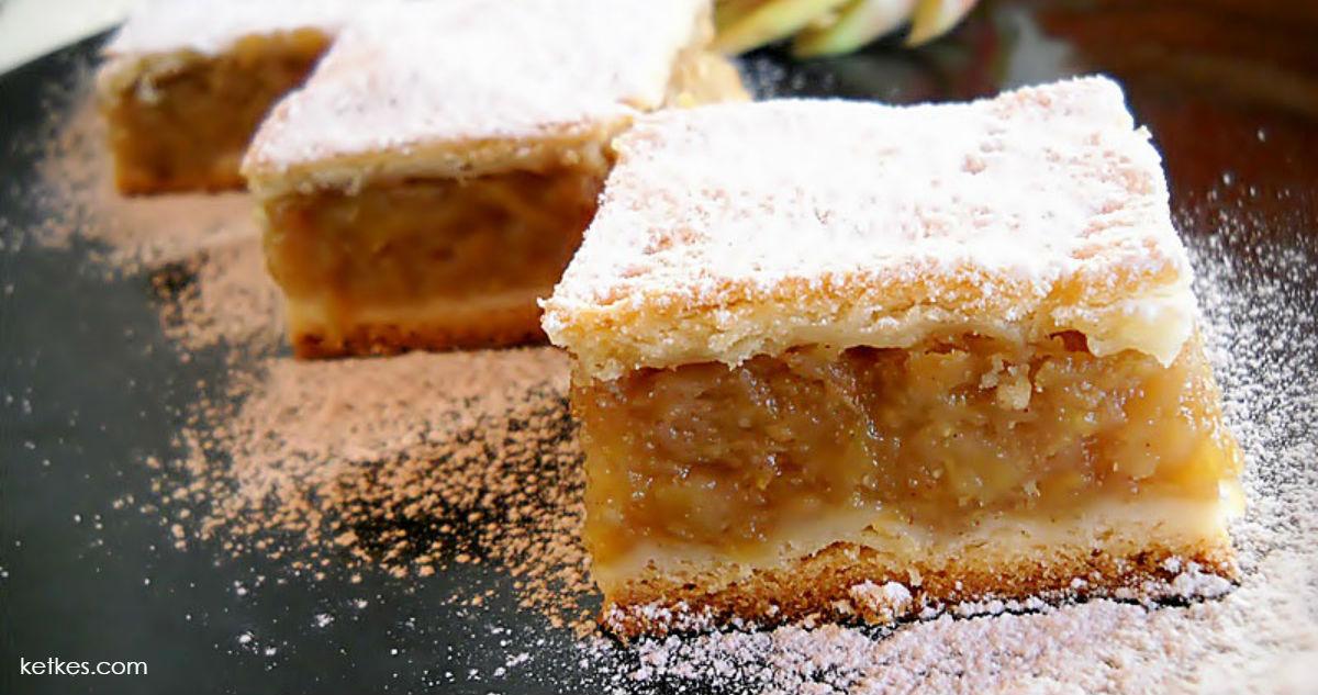 Рецепт яблочного пирога, который делала ваша бабушка. Сладкий вкус детства
