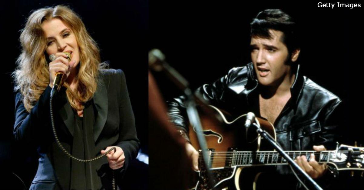 Единственная дочка Элвиса, Лиза Мари, спела ″вместе″ с ним: аж слезы наворачиваются
