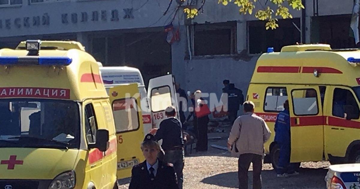 КРОВАВЫЙ взрыв со стрельбой: В Керчи случилось что то похожее на теракт