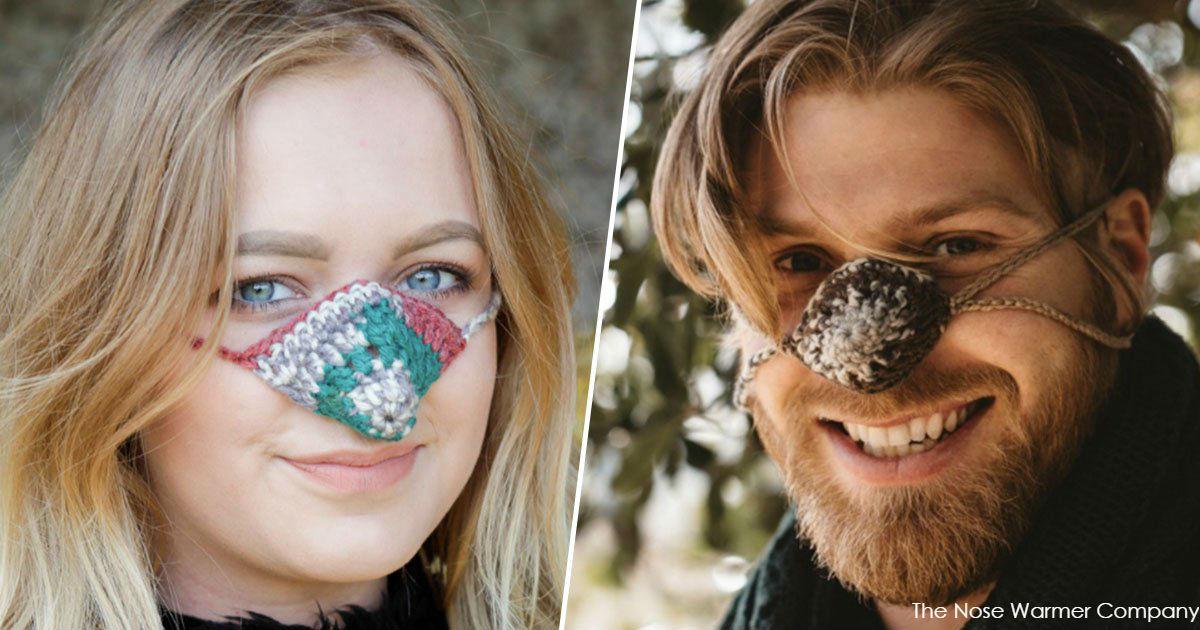 Специально для ″мерзляков″ придумали ″одежду″ для носа. И это отличный подарок!
