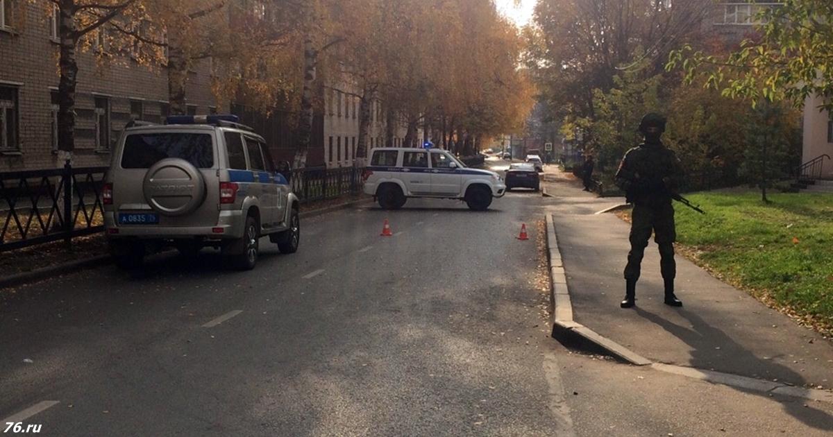 ″Всех взорву на... !″ - В Ярославле отчаянный дед захватил здание пенсионного фонда