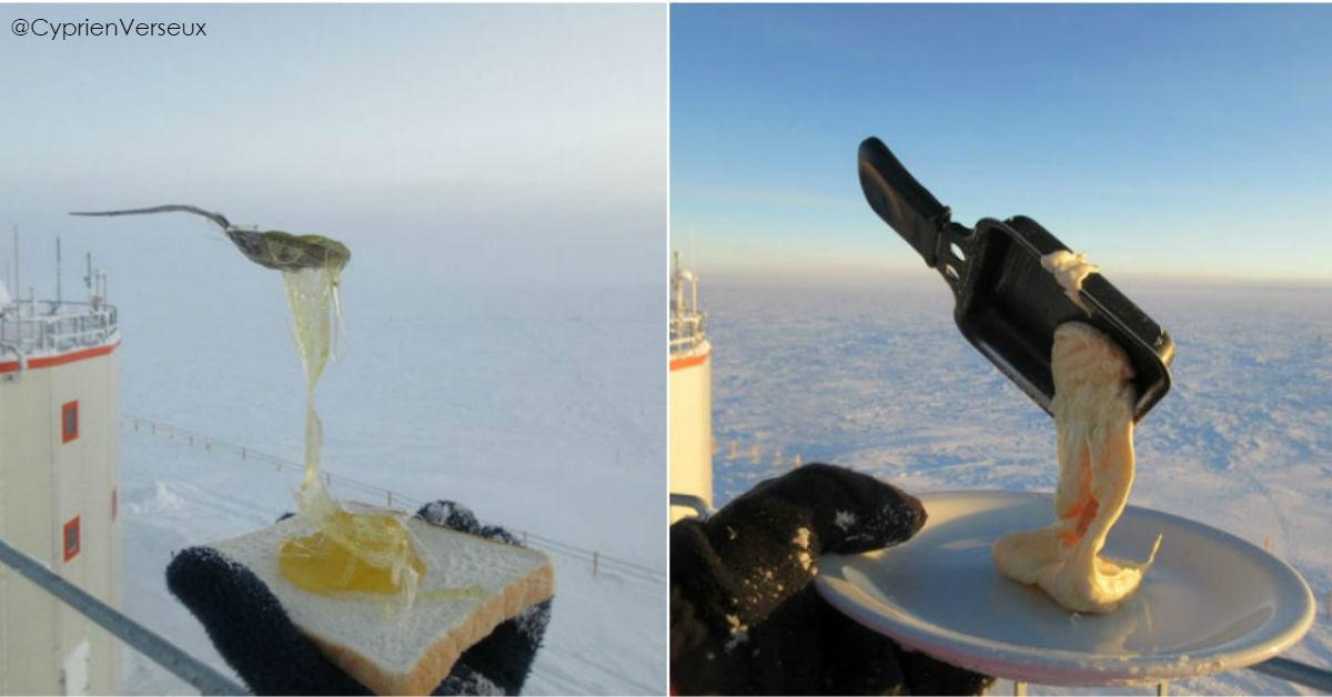 12 фото о том, что будет, если попытаться пообедать при  70ºC