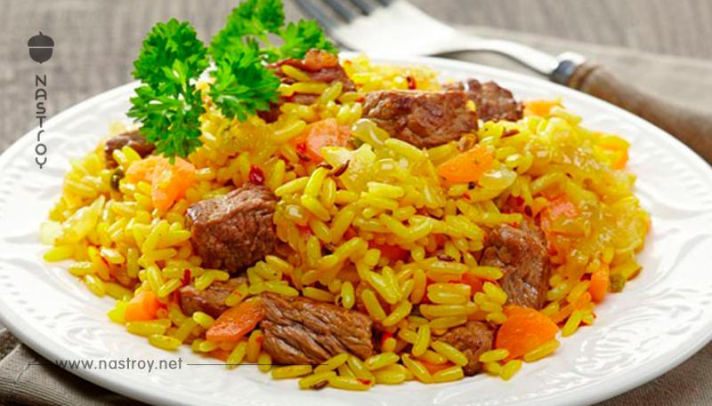 Секрет самого вкусного плова: не кипятите рис в воде