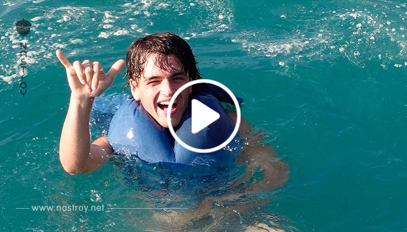 Чтобы не утонуть, нужно три раза хлопнуть по воде! Вот как это работает