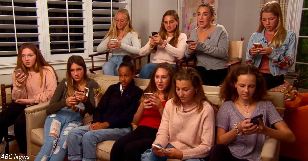 10 девочек лишили интернета на 14 дней. Вот что с ними стало в конце эксперимента