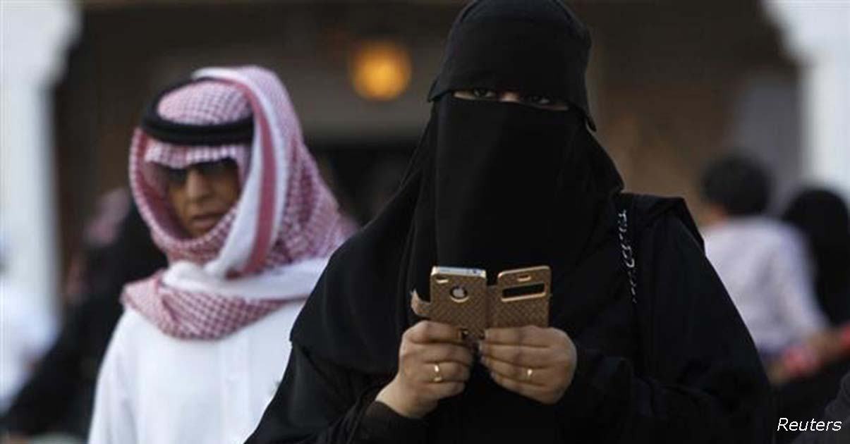 В Саудовской Аравии женщине, которая станет копаться в телефоне мужа, угрожает тюрьма!