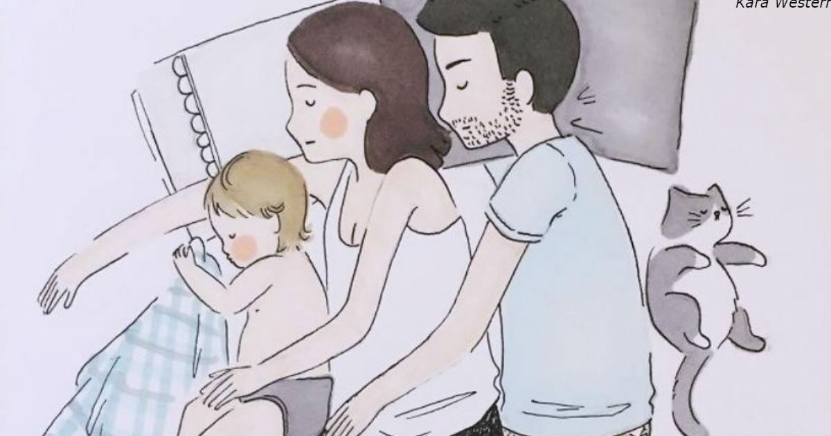 Рисунки этой мамы показывают, что такое материнство на самом деле