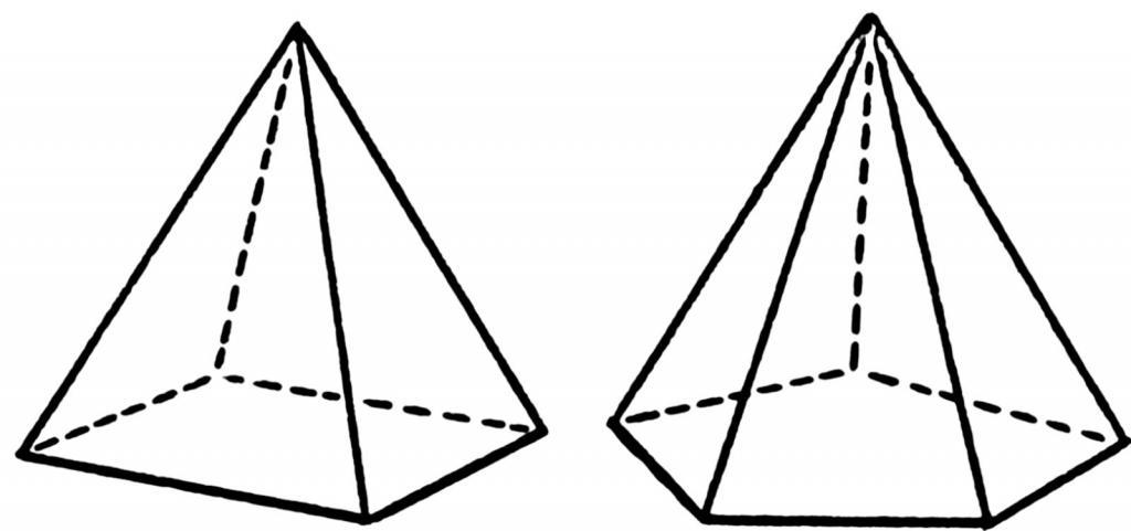 Картинки пирамида как рисовать