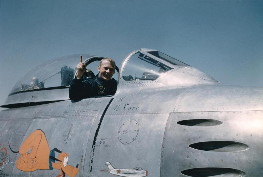 Базз Олдрин - второй астронавт, побывавший на Луне