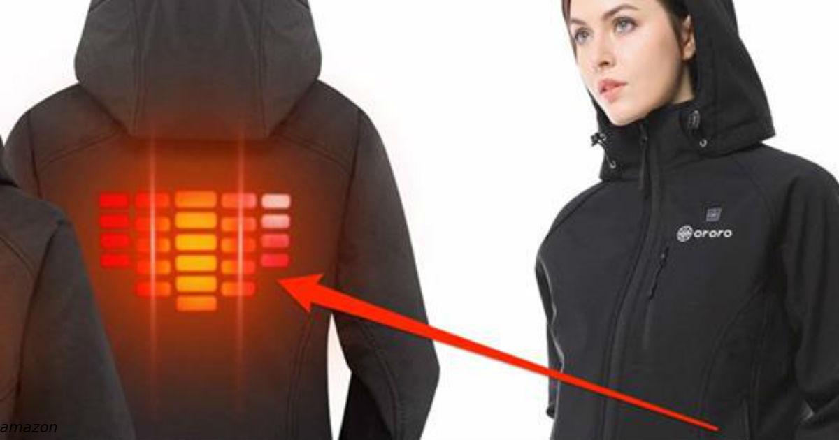 Amazon продает куртку со встроенным обогревателем. Кто попробовал   тот в экстазе!