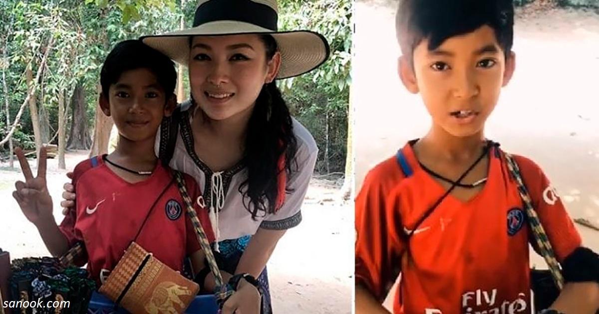 Знакомьтесь: невероятный  мальчик в Камбодже, который  знает 10 языков