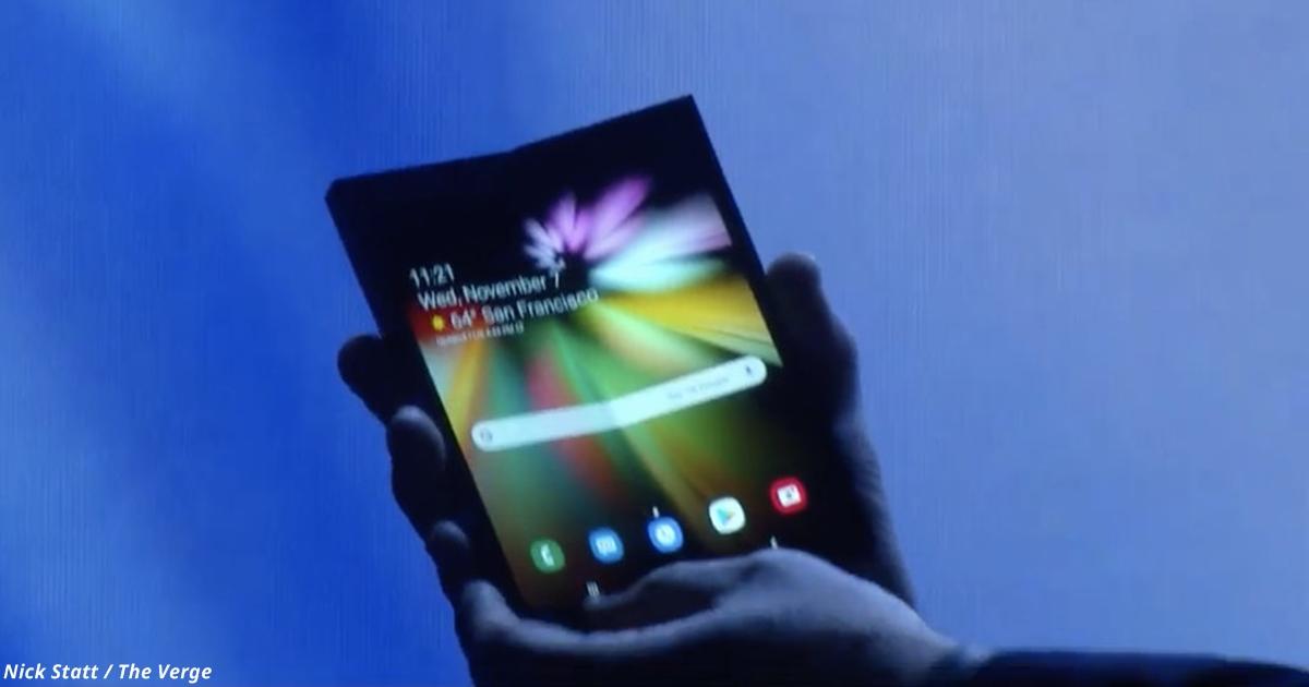 Samsung сделал телефон, который гнётся и мнётся как газета! Вот всё, что надо знать