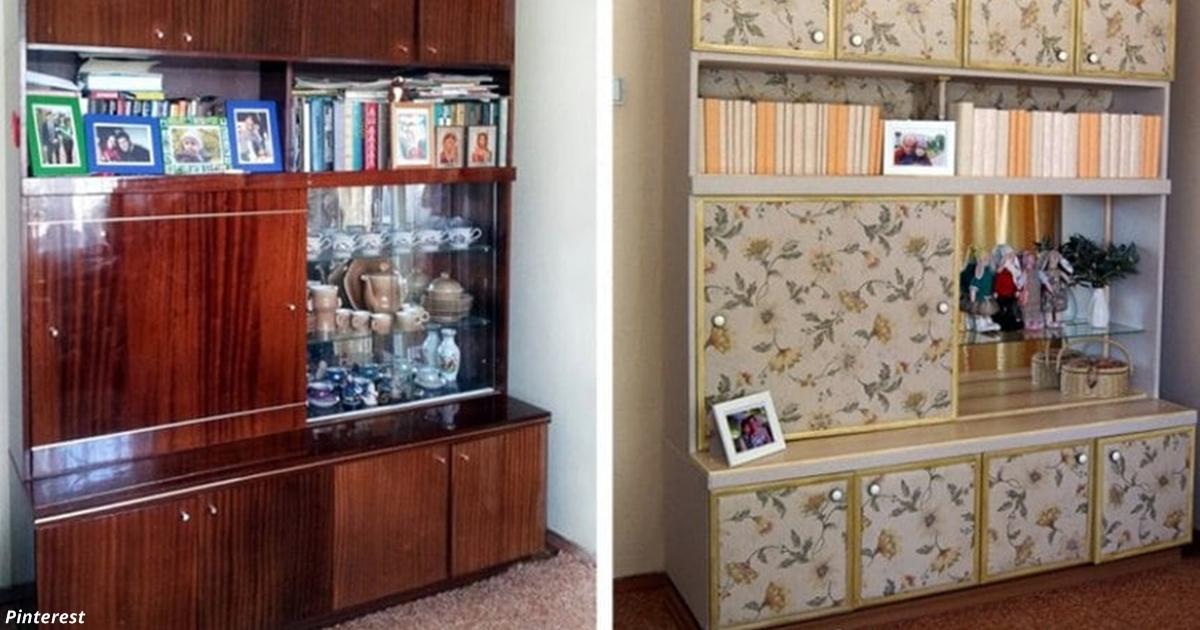 Не давайте детям её выбросить: Вот что можно сделать со старой советской мебелью