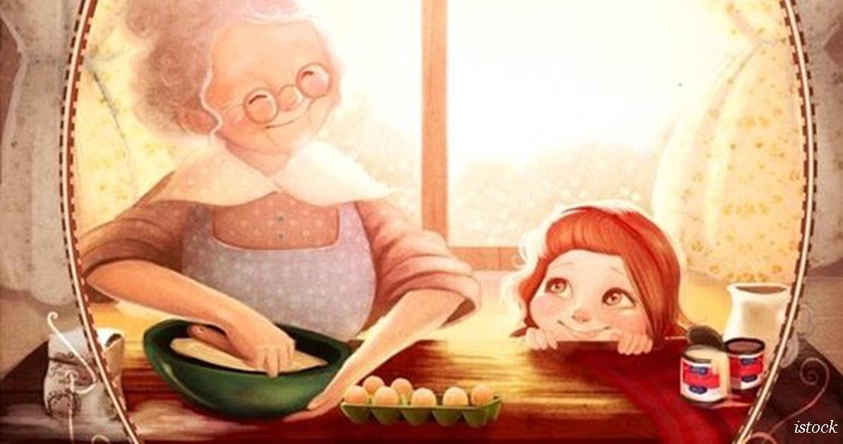 10 вещей, которые может   а, значит, должна   объяснить внукам бабушка