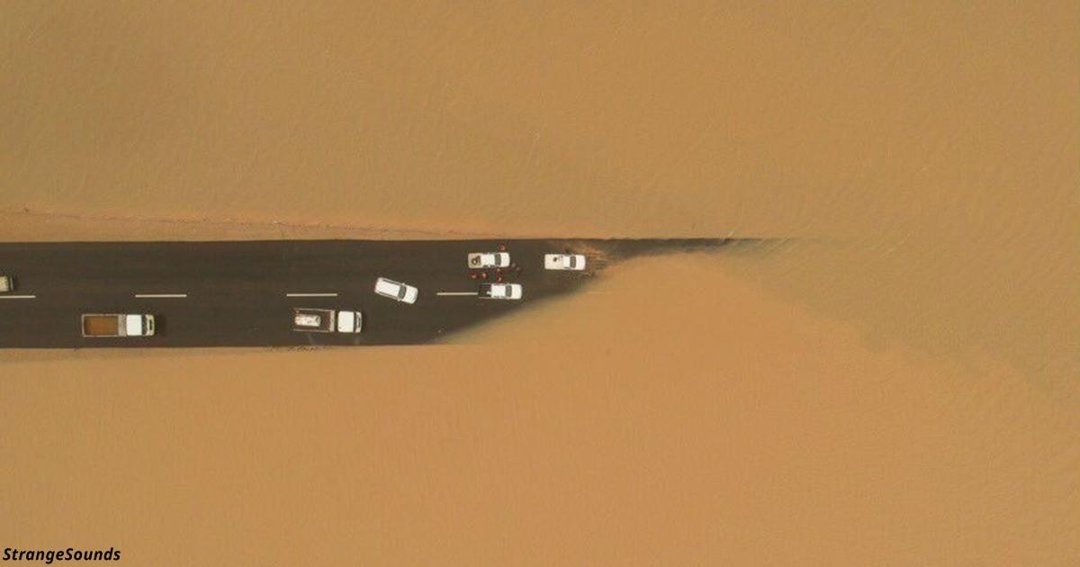 В Саудовской Аравии случилось… наводнение! Вот видео