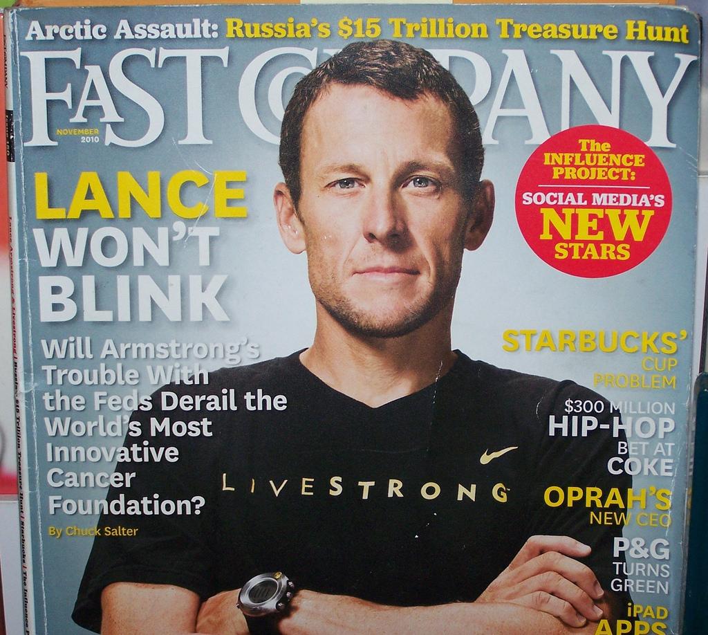 Лэнс Армстронг: биография, карьера велогонщика, борьба с раком, книги и фото