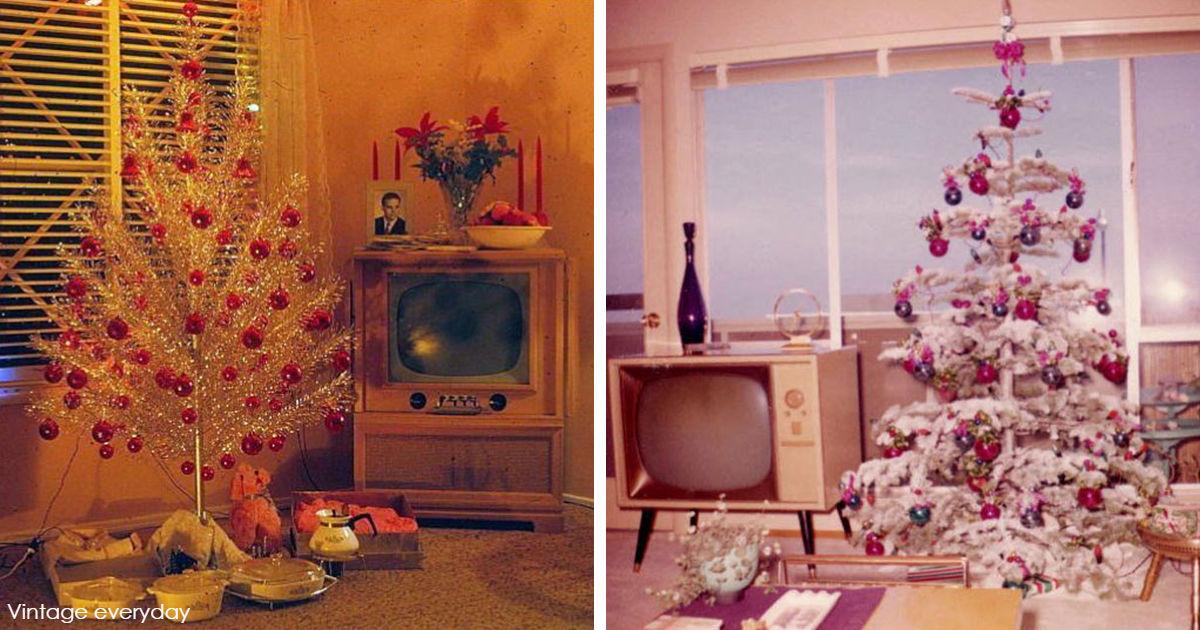 33 фото новогоднего декора 50-х - о том, как много всего изменилось с тех пор