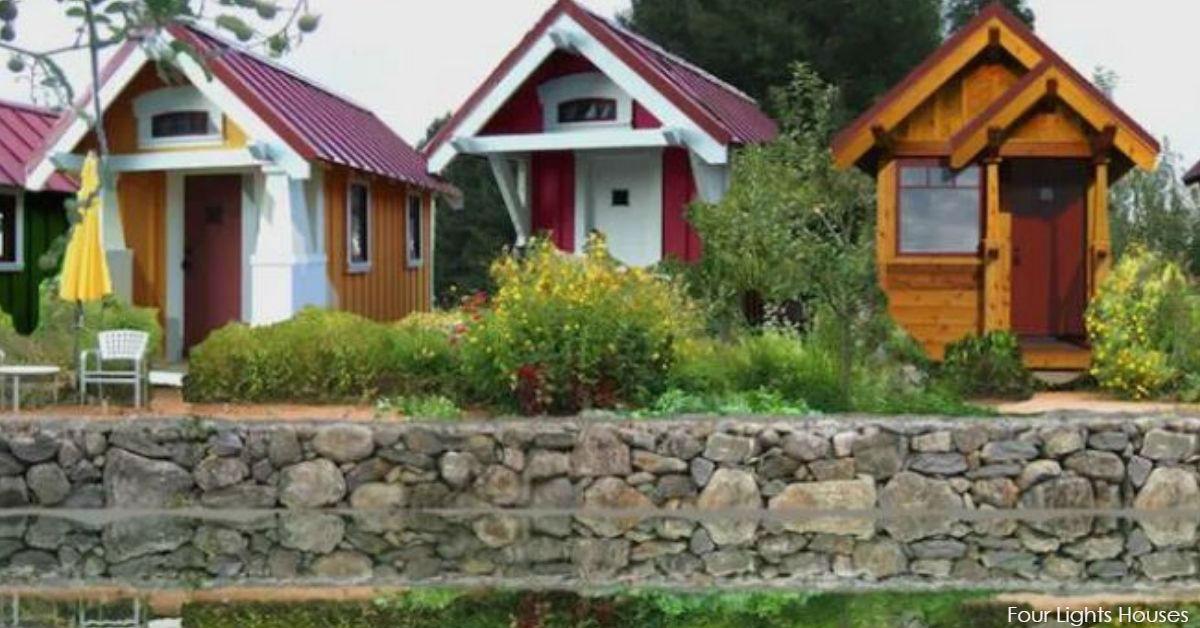 Эти крошечные дома строят, чтобы спасти бездомных ветеранов