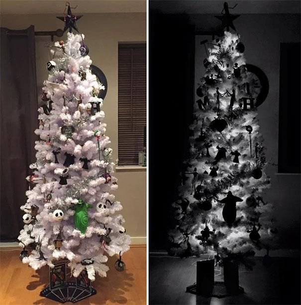33 раза, когда кто-то поставил дома действительно необычную елку